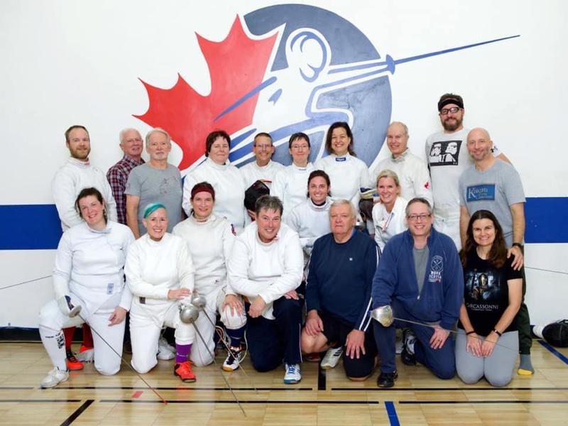 Group picture of CFA Veterans Clinic participants